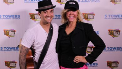"""Photo of National Dance Day At """"5 Towers"""" With Mary Murphy and Mark Ballas"""