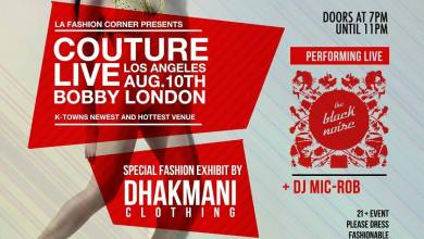 Photo of Couture Live LA Presents Dhakmani Clothing