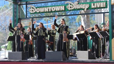 Photo of Mariachi Divas celebrate 6th Grammy nomination with fans at Downtown Disney District