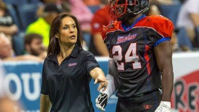 Photo of Jen Welter becomes the first ever NFL coach