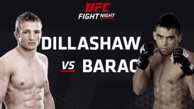 Photo of Dillashaw TKOs Barao in rematch to remain Champion