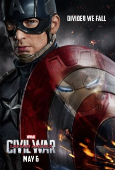 Captain America - Captain America: Civil War Poster