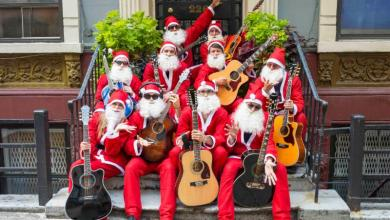 Photo of HOLIDAY SUPERGROUP BAND OF MERRYMAKERS RELEASES NEW MUSIC VIDEO FROM DEBUT ALBUM