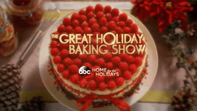 Photo of ABC's new The Great Holiday Baking Show November 30th!