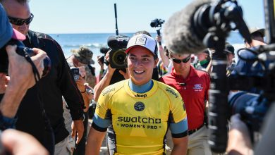 Photo of JORDY SMITH AND TYLER WRIGHT WIN HURLEY PRO AND SWATCH WOMEN'S PRO AT TRESTLES