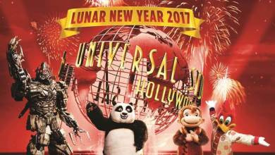 "Photo of Kung Fu Panda's Po and Tigress Join a Mandarin-Speaking MEGATRON to Usher in the ""Year of the Rooster"""