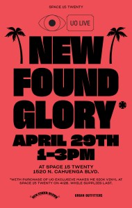 New Found Glory In-Store