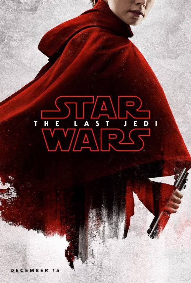 Rey Star Wars The Last Jedi Poster
