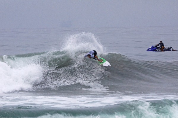 Maud Le Car (FRA) has won the Vans US Open Women's CT