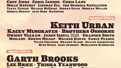Photo of GARTH BROOKS, KEITH URBAN and FLORIDA GEORGIA LINE SET TO HEADLINE STAGECOACH 2018