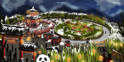 CHILL's CHINA RENDERING