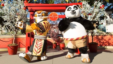 Photo of DreamWorks' Kung Fu Panda's Po and Tigress Headline Universal Studios Hollywood's All-New Lunar New Year Event
