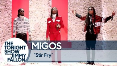 Photo of Migos Perform 'Stir Fry' on The Tonight Show Starring Jimmy Fallon