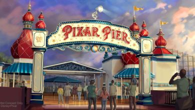Pixar Pier Lamplight Lounge