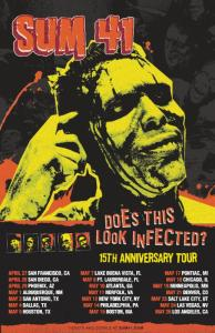 Sum 41 Does Those Look Infected Tour