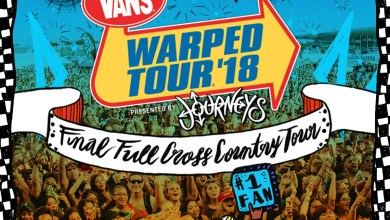 Photo of 2018 Vans Warped Tour, Presented by Journeys Lineup Revealed