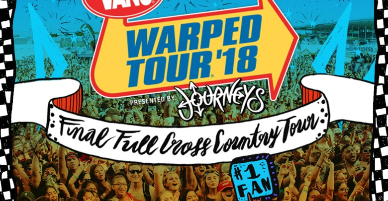 Vans Warped Tour 2018 Final Full Cross Country Tour