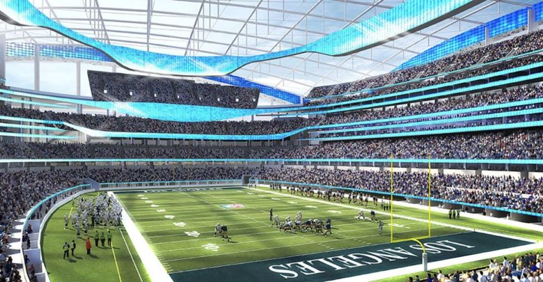 Rams and Chargers LA stadium