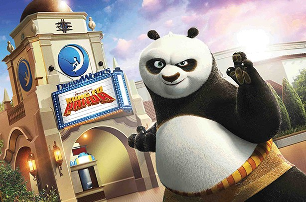 Universal studios Hollywood Kung Fu Panda grand opening June 15 2018 at USH