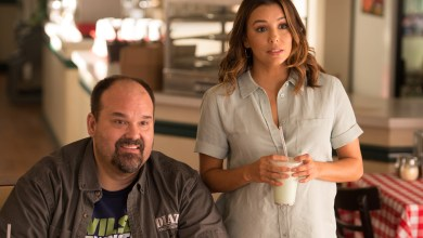 Photo of Eva Longoria and Mel Rodriguez Talk About New Film, OVERBOARD