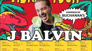 Photo of J BALVIN LANDS AT NO. 1 ON THE BILLBOARDS TOP LATIN ALBUMS