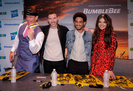 bumblebee cast and director