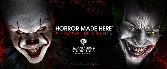 Horror Made Here Warner Bros Studio Tour Hollywood