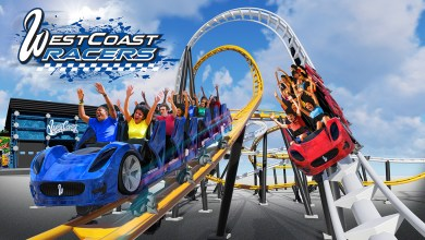 Photo of Six Flags Magic Mountain Announces World's First Racing Launch Coaster, West Coast Racers