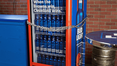 Photo of BUD LIGHT FLOODS THE STREETS OF CLEVELAND