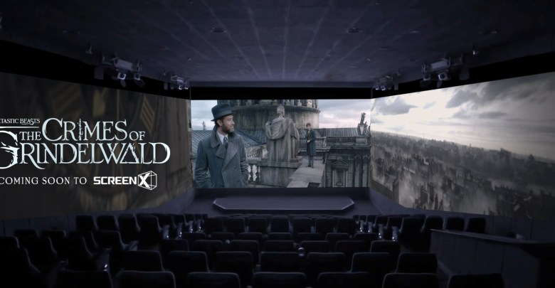 """Warner Bros. Pictures' """"Fantastic Beasts: The Crimes of Grindelwald"""" in ScreenX"""