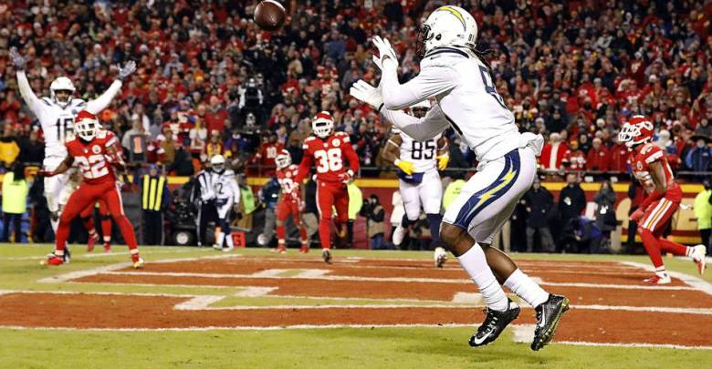 Chargers M. WILLIAMS TNF 12:13