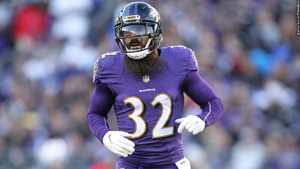 Rams to Sign Safety Eric Weddle to Two-Year Contract