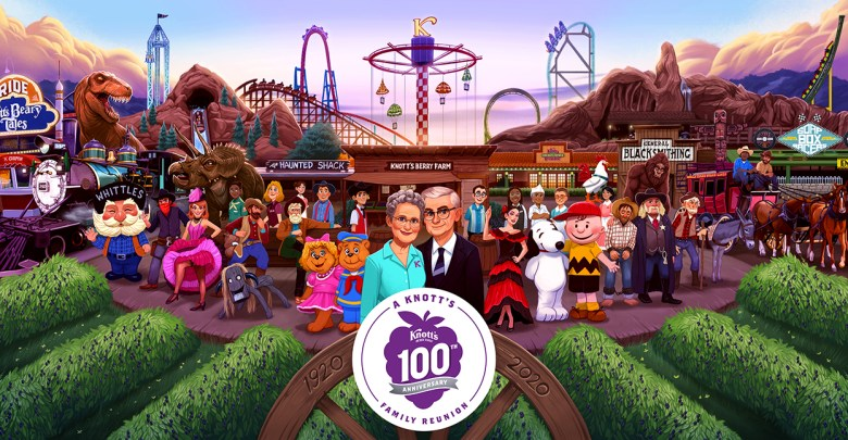 Knott's Berry Farm 100th Anniversary