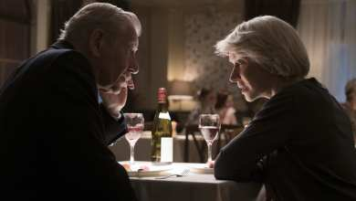 Photo of Helen Mirren and Ian McKellen Talk Good Liar at Premiere