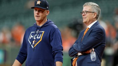 Photo of Astros manager A.J Hinch and GM Jeff Luhnow fired following MLB investigation