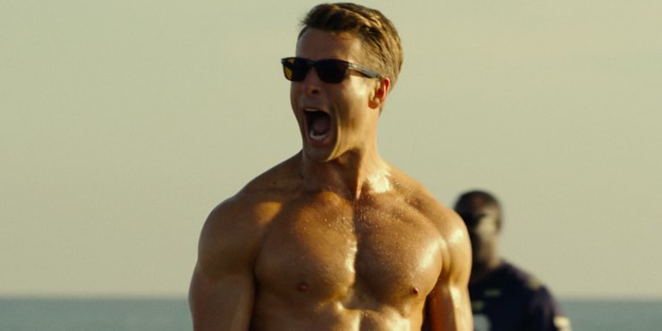 Glen Powell in Top Gun 2 Maverick