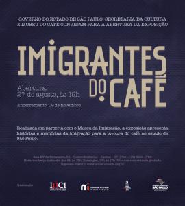 Convite Expo Imigrantes Café