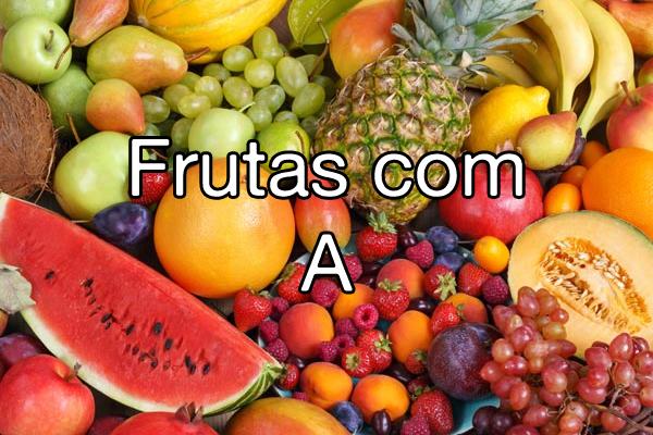 Frutas com A