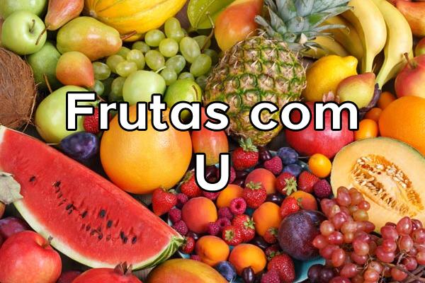 Frutas com U