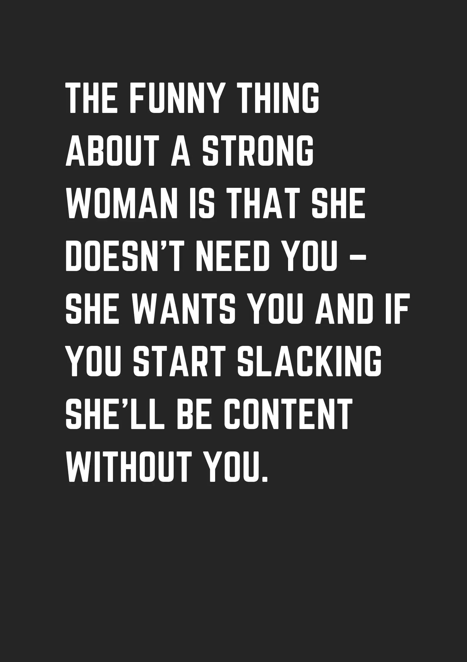 Funny Strong Women Quotes : funny, strong, women, quotes, Funny, Strong, Woman, Quotes, Daily