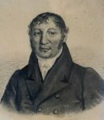 k.k.Hofinstrumentenmacher Conrad Graf; Kohle auf Papier Signatur LB oder BL um 1835