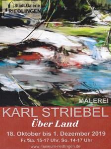 Karl Striebel - Über Land