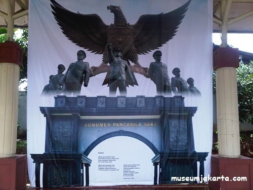 koleksi foto di monumen pancasila sakti