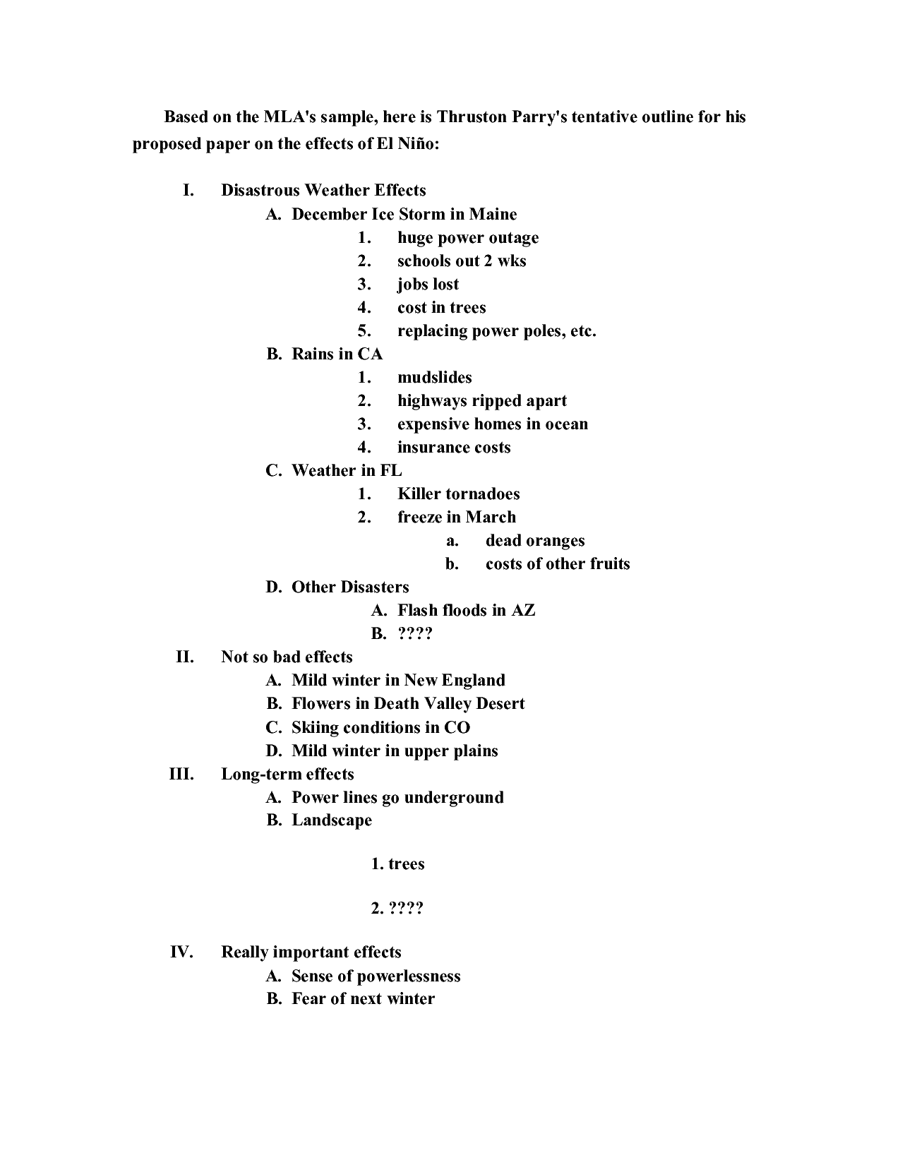021 Research Paper Components Of Outline College