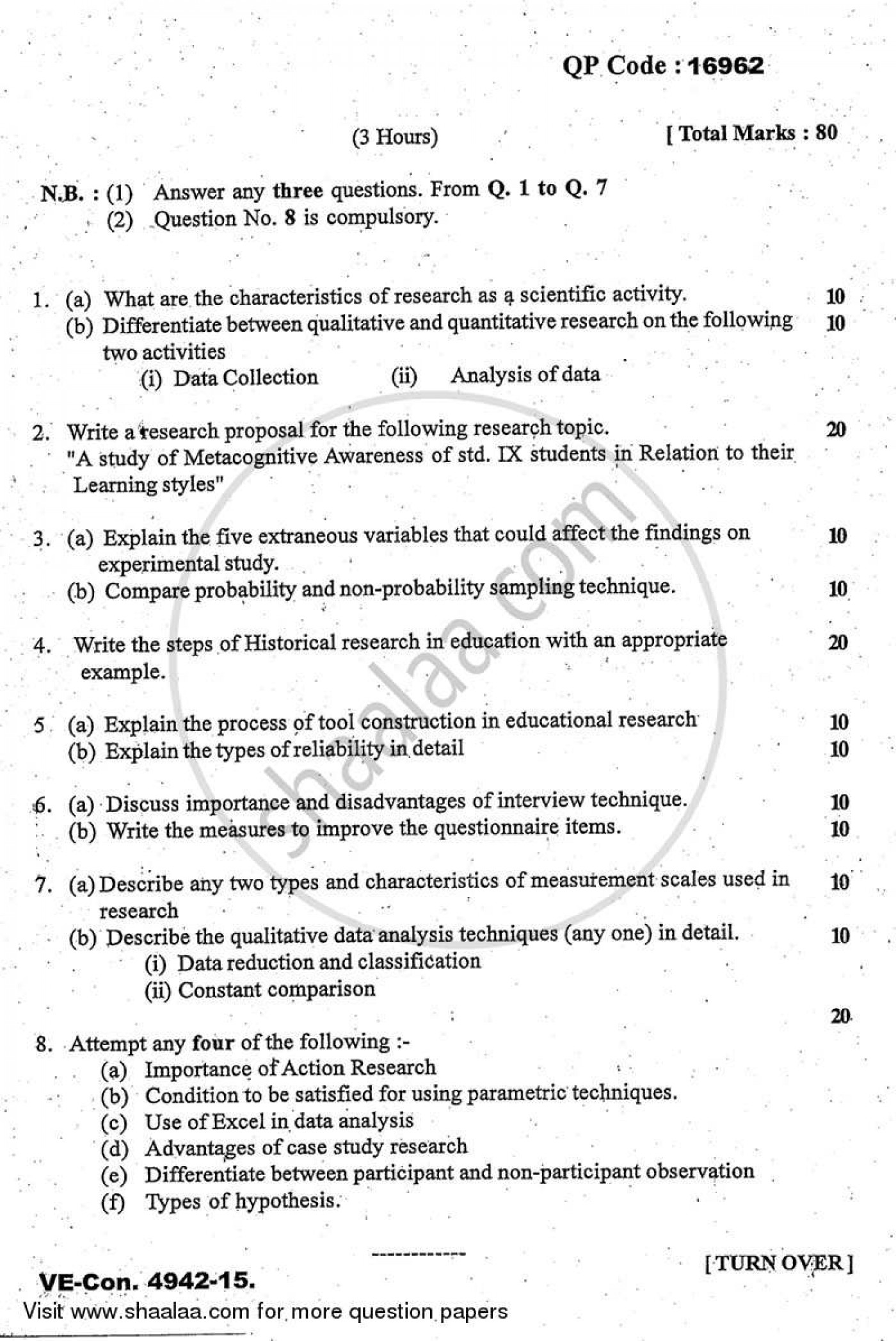 021 Research Paper How To Write Qualitative And