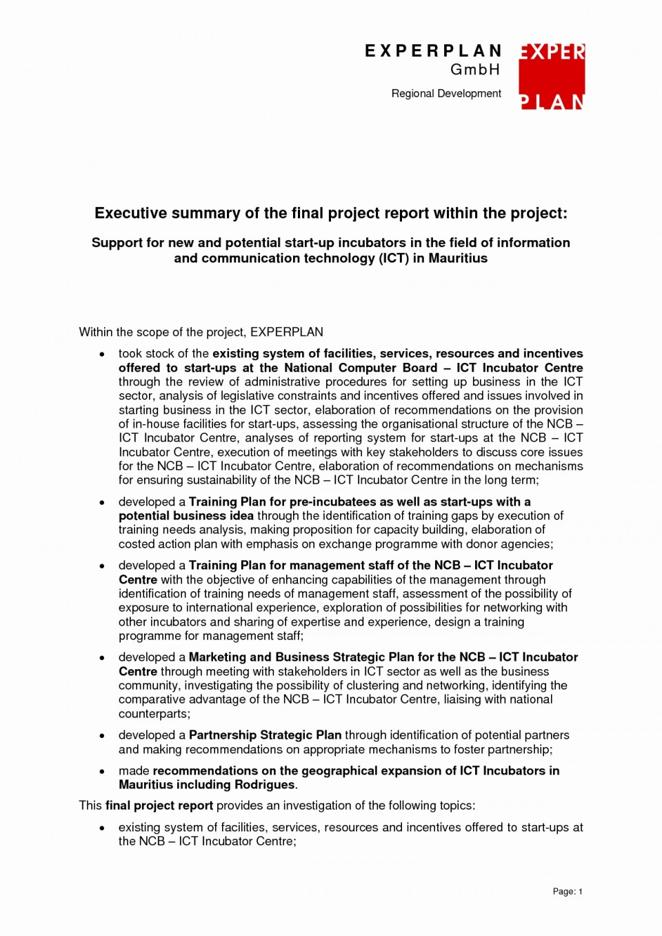 027 Executive Summary For Research Paper 20project Management Template Plan Example Luxury Experience ~ Museumlegs