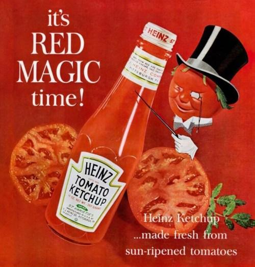 1940s Heinz Ketchup ad