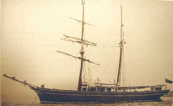 The boat, 'The Lady of St Kilda'.