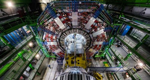 A picute of the Large Hadron Collidor