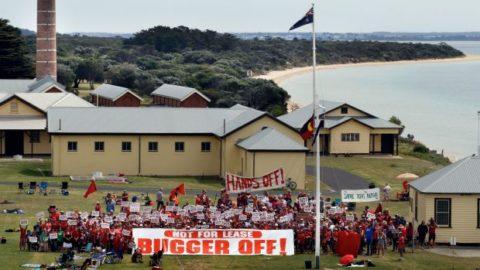 Point Nepean Quarantine Station: anti development protest